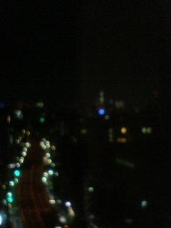 都会の秋の夜